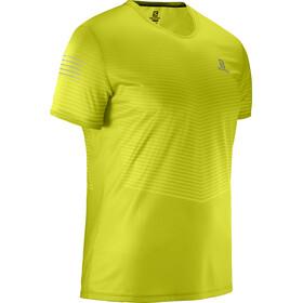 Salomon Sense Camiseta Hombre, citronelle/sulphur spring